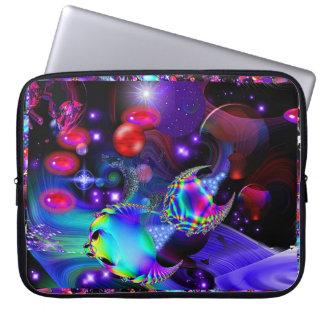 El espacio de la fantasía colorea Scape en la acci Fundas Portátiles