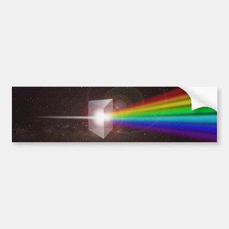El espacio del espectro de color de la prisma pegatina para auto