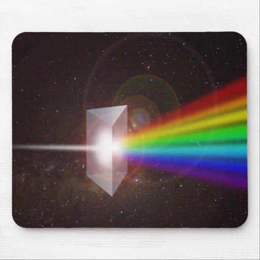 El espacio del espectro de color de la prisma prot tapetes de ratón