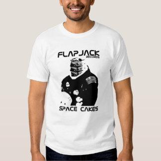 El espacio del Flapjack apelmaza la camisa