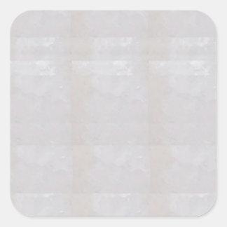 El espacio en blanco de la plantilla añade su pegatina cuadrada