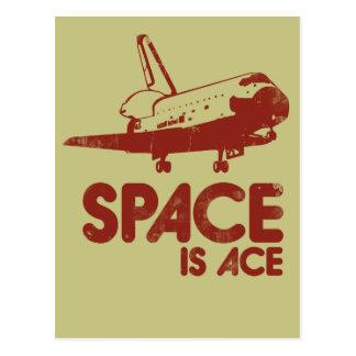 El espacio es as tarjetas postales