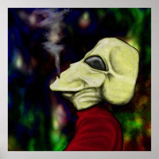 """El """"espacio es lleno de humo… """" impresiones"""