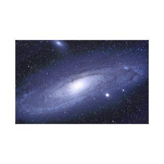 El espacio exterior 2 estiró la impresión de la lo lienzo envuelto para galerías
