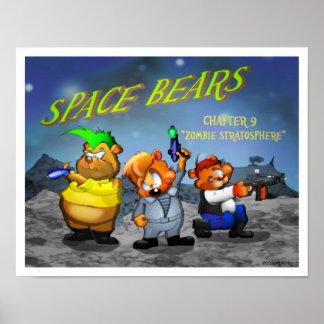 """El espacio lleva el capítulo 9"""" estratosfera del póster"""
