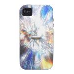 El espacio se nubla el arte iPhone 4/4S carcasa