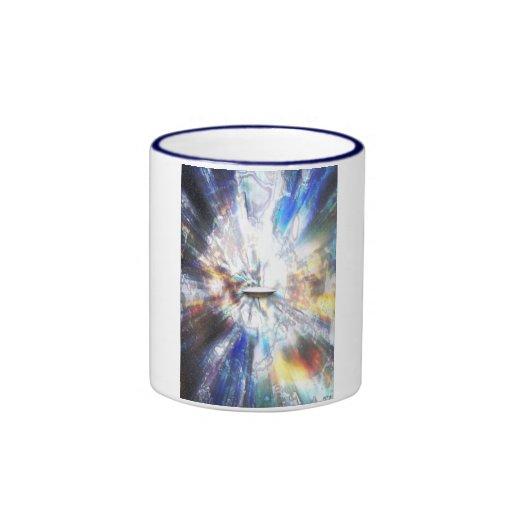 El espacio se nubla el arte taza