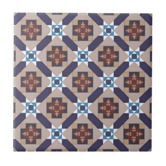 El español amarra el modelo azulejo cuadrado pequeño