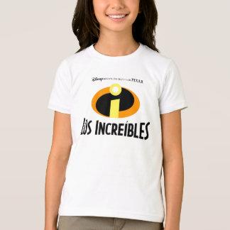 El español Disney de Incredibles Playera