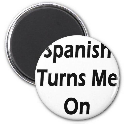 El español me gira imanes para frigoríficos