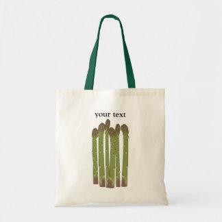 El espárrago alancea los Veggies vegetales del Bolsa Tela Barata