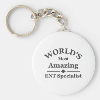 El especialista ENT más asombroso del mundo Llaveros Personalizados