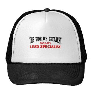 El especialista más grande de la ventaja de la ins gorra