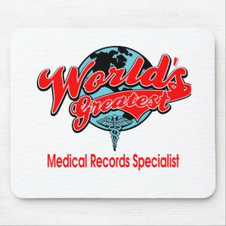 El especialista más grande de los informes médicos alfombrilla de ratones