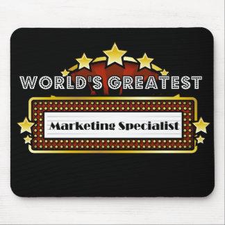 El especialista más grande del márketing del mundo alfombrilla de ratones