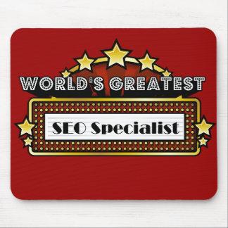 El especialista más grande del SEO del mundo Mousepad