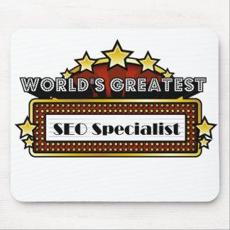 El especialista más grande del SEO del mundo Tapetes De Ratón