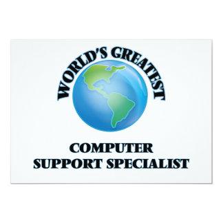 El especialista más grande del soporte informático invitaciones personalizada