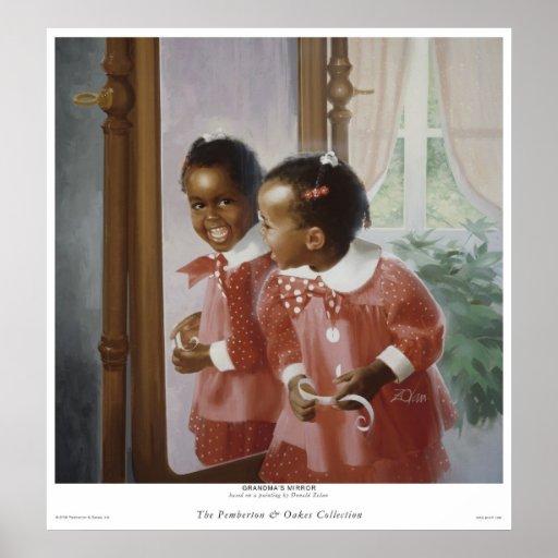 El espejo de la abuela póster