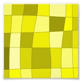 El espejo de la diversión llega amarillo arte fotográfico
