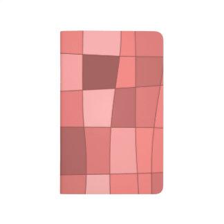 El espejo de la diversión llega el rosa de color cuadernos