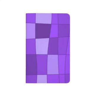 El espejo de la diversión llega la violeta cuadernos grapados