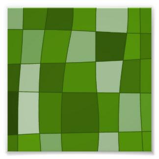 El espejo de la diversión llega verde impresiones fotograficas