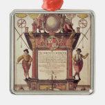 El espejo de los marinos, titlepage adorno de reyes