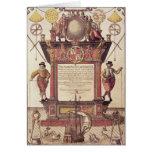 El espejo de los marinos, titlepage tarjeta