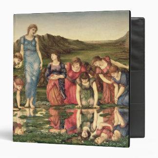 El espejo de Venus, 1870-76 (aceite en lona)