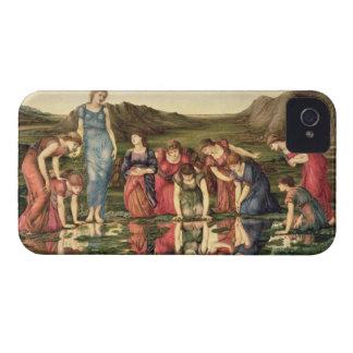 El espejo de Venus, 1870-76 (aceite en lona) Funda Para iPhone 4 De Case-Mate