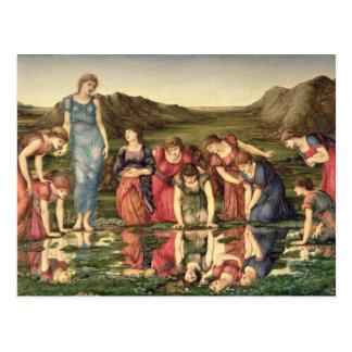 El espejo de Venus, 1870-76 (aceite en lona) Postales