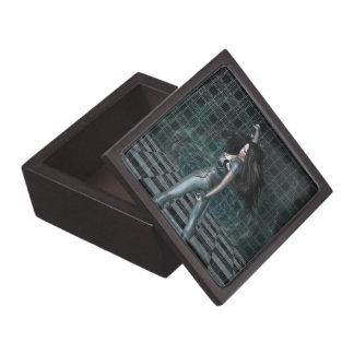 El espejo del vórtice caja de recuerdo de calidad