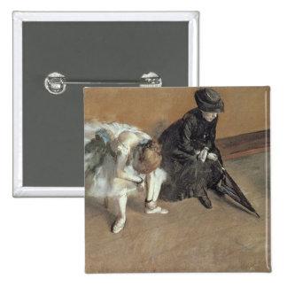 El esperar, c.1882 (en colores pastel) pins