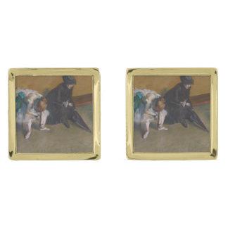 El esperar de Edgar Degas Gemelos Dorados
