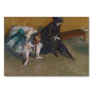 El esperar de Edgar Degas