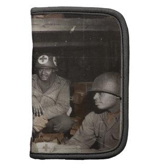 El esperar de los médicos de WWII Planificadores