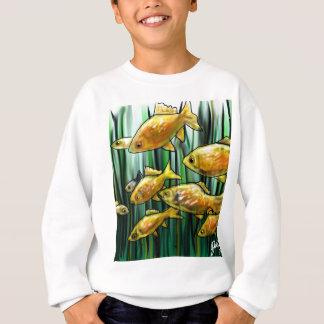 El esperar del Goldfish Sudadera