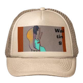 El esperar gorras de camionero