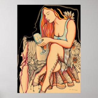 El esperar - mujeres de las series de Pichincha Impresiones