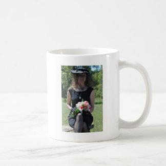 El esperar para verle otra vez taza de café