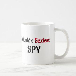 El espía más atractivo del mundo taza