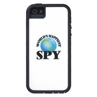 El espía más feliz del mundo iPhone 5 carcasa