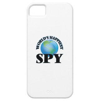 El espía más feliz del mundo iPhone 5 carcasas