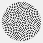 El espiral de Fermat Pegatina Redonda