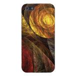 El espiral del arte abstracto de la vida iPhone 5 protectores