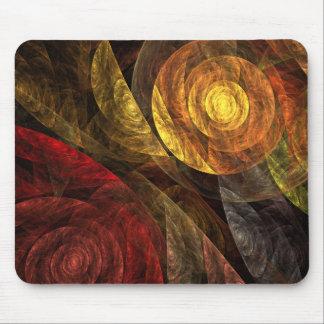 El espiral del arte abstracto Mousepad de la vida Tapete De Raton