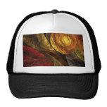 El espiral del gorra del arte abstracto de la vida