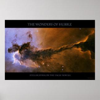 El espiral estelar - poster gigantesco póster