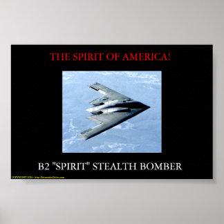 El espíritu de América Póster